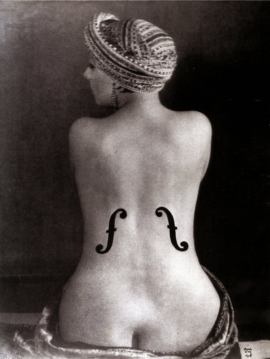 Man-Ray_FemmeViolon